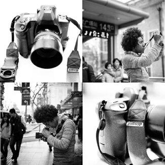 <公式>伸縮自在のカメラストラップ!/diagnl(ダイアグナル)/NinjaCameraStrap(ニンジャカメラストラップ)25mm{一眼レフ}{伸縮自在}{カメラ一眼}{マイクロ一眼}{ミラーレス}