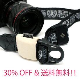 カメラストラップ 一眼レフ ミラーレス ショルダーストラップ おしゃれ 斜めがけ 長さ調節【30%OFF】【送料無料】ニンジャカメラストラップdiagnl(ダイアグナル)Ninja Camera Strap USA 38mm幅 & Binder セット