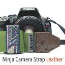 本革仕様のニンジャカメラストラップ!diagnl(ダイアグナル) Ninja Camera Strap 38mm幅 本革タイプ【5,500円(税込)以…