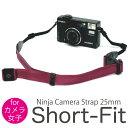 カメラ女子にオススメ!選べる10色 ニンジャカメラストラップ ショートタイプ / diagnl(ダイアグナル) Ninja Camera Strap 25mm Short-Fitカメラストラップ ミラーレス コンデジ 斜めがけ かわいい