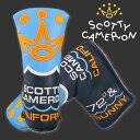 スコッティキャメロン2016 ヘッドカバー クラブキャメロン 72 & Sunny スタンダード (Scotty Cameron / パターカバー)
