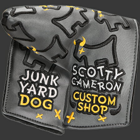 スコッティキャメロン ヘッドカバー カスタムショップ DANCING JUNKYARD DOG [ ミッドマレッド ]