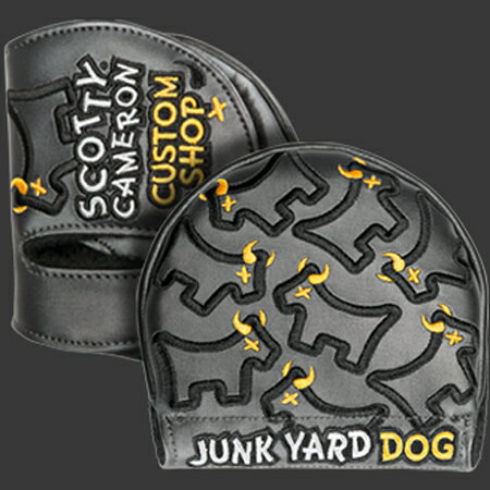 スコッティキャメロン ヘッドカバー カスタムショップ DANCING JUNKYARD DOG [ ミッドラウンド ]