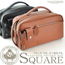 【最大1000円OFFクーポン】セカンドバッグ メンズ 本革 レザー セカンドバッグ セカンドバック メンズ かばん カバン MEN'S SECOND BAG セカンド・バッグ