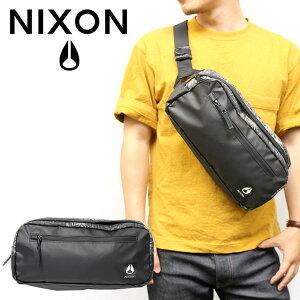 NIXON ニクソン ボディバッグ 斜め掛け 鞄 bag シンプル メンズ レディース ユニセックス ヒップバック ウエストバッグ ブランド ナイロン 軽量 c2816-1788