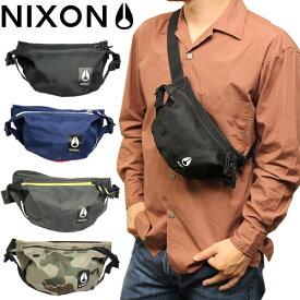【マラソンセール】【30%OFF】NIXON ニクソン バッグ ボディバッグ 斜め掛け 鞄 bag シンプル メンズ レディース ユニセックス ヒップバック ウエストバッグ ブランド ナイロン 軽量