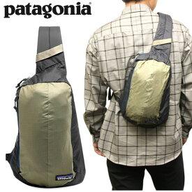 PATAGONIA パタゴニア ボディバッグ BAG 鞄 メンズ レディース アウトドア ブラック カーキ ナイロン ユニセックス シンプル ブランド 軽量 コンパクト 49020 ウルトラライト ブラックホール スリング 8L
