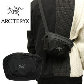 ARCTERYX アークテリクス ウエストバッグ ウエストポーチ MAKA1 WAISTPACK マカ1 メンズ レディース 耐久撥水 ブラック セキュリティポーチ 17171