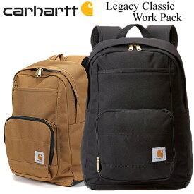 CARHARTT カーハート リュック バックパック バッグ BAG 鞄 メンズ レディース ブランド シンプル ブラック ブラウン Legacy Classic Work Pack