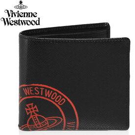 Vivienne Westwood ヴィヴィアンウエストウッド 財布 二つ折り ウォレット ファッション レディース 女性 ブランド プレゼント ギフト 51010016-n406bkrd