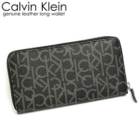 【ファッションセール】Calvin Klein カルバンクライン メンズ 男性用 財布 ウォレット 長財布 ラウンドファスナー ブランド ブラック メンズ シンプル 79468 ギフト