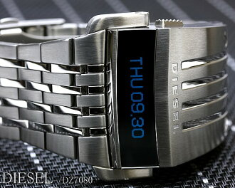 Diesel DIESEL watch LED digital near future model model DZ7080