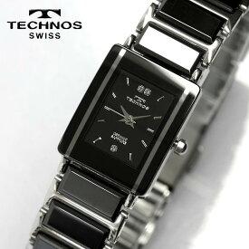 TECHNOS テクノス セラミック サファイアガラス ブラック レディース 腕時計 TAL742TB