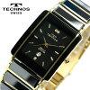 科技科技男装陶瓷蓝宝石黑色手表 TAM530GB