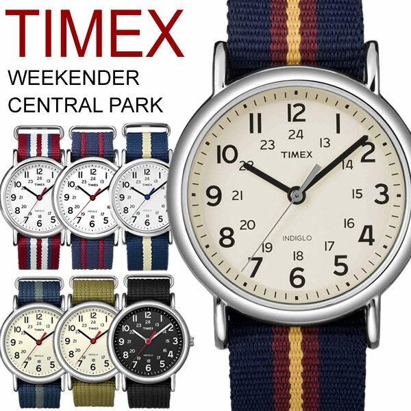 タイメックス TIMEX 腕時計 メンズ レディース ウィークエンダー セントラルパーク ミリタリー MILITARY メッシュベルト MEN'S ウォッチ