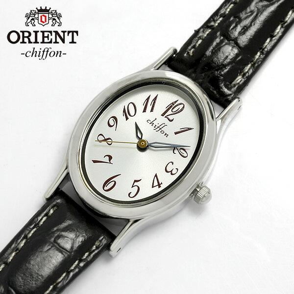 オリエント×シフォン レディース腕時計 レザー レディース 腕時計 ORIENT オリエント レザー かわいい 腕時計 レディス