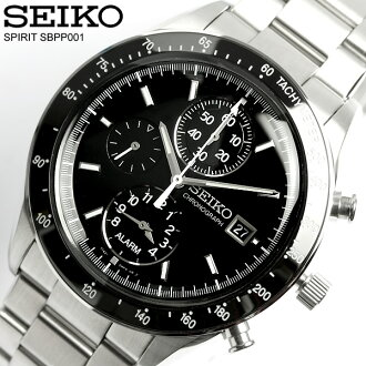 Move SEIKO SEIKO SPIRIT spirit power design project chronograph watch SBPP001 Men's watch arm, and is; a watch domestic regular article