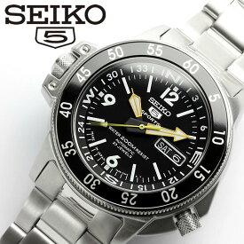 【SEIKO5 SPORTS/セイコー5 スポーツ】 腕時計 ダイバーズウォッチ 自動巻き メンズ SKZ211j1 Men's うでどけい オートマティック 日本製 MADE IN JAPAN メイドインジャパン ギフト