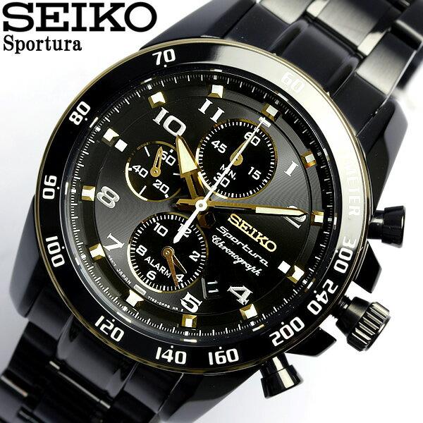 【送料無料】セイコー SEIKO 腕時計 スポーチュラ メンズ クロノグラフ SNAF34P1