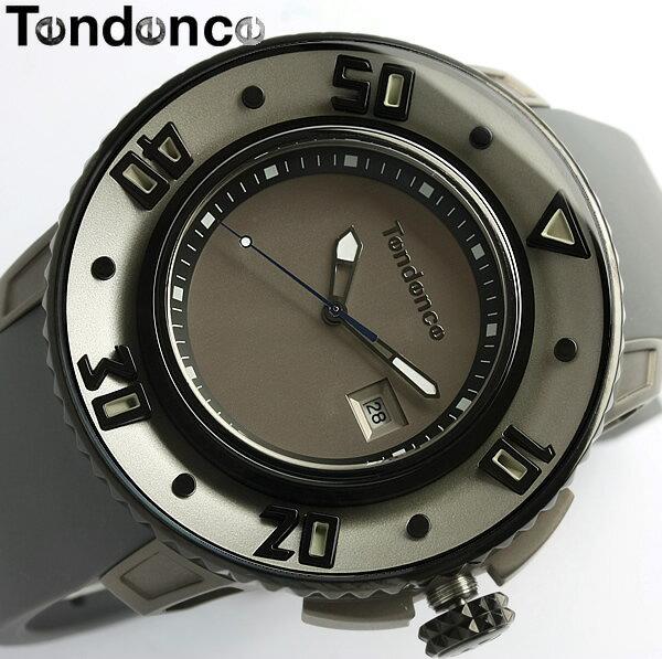 【送料無料】【テンデンス】【Tendence】 腕時計 メンズ G-52シリーズ 02101000円1 うでどけい MEN'S ウォッチ グレー ラバー 20気圧防水 男性用