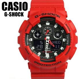 【G-SHOCK・Gショック】CASIO カシオ ジーショック GA-100B-4A G-SHOCK メンズ 腕時計 MEN'S うでどけい 逆輸入モデル