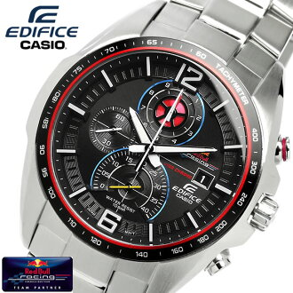 EDIFICE Red Bull Racing watch limited edition chronograph edifice men's EFR-528RB-1AU MEN's udedokei Casio watches water resistant 10 ATM