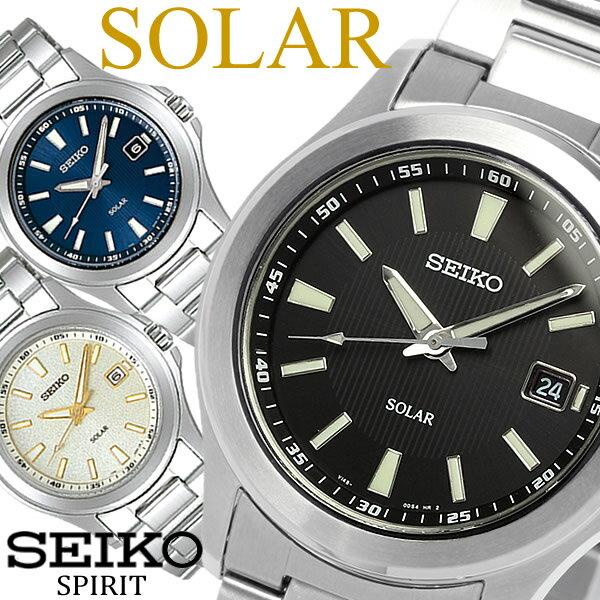 【送料無料】【SEIKO SPIRIT】 セイコー スピリット ソーラー腕時計 メンズ メタル 10気圧防水 SBPN067 SBPN069 SBPN071 うでどけい ウォッチ Men's 【国内正規品】