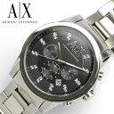 エントリーで最大P4倍 【送料無料】アルマーニ エクスチェンジ ARMANI EXCHANGE クロノグラフ 腕時計 メンズ AX2092 …