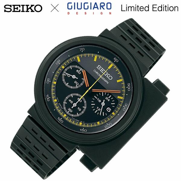【正規品】【SEIKO SPIRIT】 セイコースピリット GIUGIARO DESIGN 限定モデル 腕時計 クロノグラフ メンズ コラボウォッチ ジウジアーロ・デザイン SCED037 3000本限定 うでどけい MEN'S