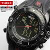 TIMEX Timex手表人[铁人/铁人拉力赛]anadeji 100M防水手表橡胶MEN'S跑步表T5K405[新货][手表]