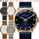 マークバイ マークジェイコブス MARC BY MARC JACOBS 腕時計 レディース 革ベルト 36mm ベイカー MBM1265 MBM1266 MBM...