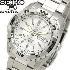 【楽天スーパーSALE】【送料無料】seiko 5 SPORT セイコー ファイブ スポーツ 腕時計 ウォッチ メンズ 自動巻き 10気圧防水 シースルーバック snzj03js1