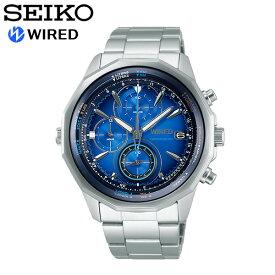 【送料無料】seiko WIRED セイコー ワイアード 腕時計 ウォッチ メンズ 男性用 クオーツ 10気圧防水 ザ・ブルー agaw439