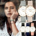 ROSE FIELD ローズフィールド 腕時計 レディース ウォッチ THE WEST SIDE 33mm 日本製クオーツ 3気圧防水 ステンレス …
