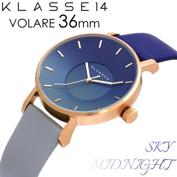 【送料無料】KLASSE14 クラスフォーティーン 腕時計 ウォッチ メンズ レディース クオーツ MARIO NOBILE VOLARE SKY COLLECTION MIDNIGHT ミッドナイト SK17RG003W