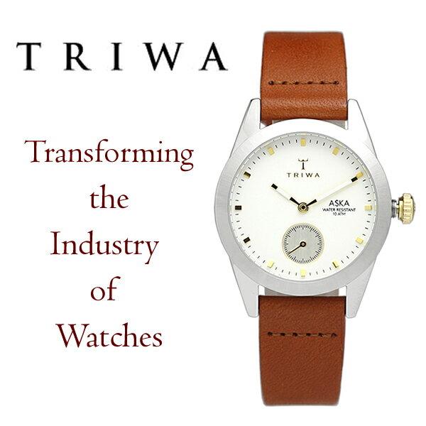 【送料無料】TRIWA トリワ ASKA アスカ 腕時計 ウォッチ レディース 女性用 クオーツ 10気圧防水 スモールセコンド tw-akst102