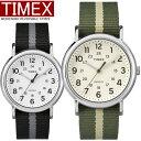 TIMEX タイメックス ウィークエンダー 腕時計 ユニセックス クオーツ 3気圧防水 真鍮 ナイロンストラップ ミネラルガ…