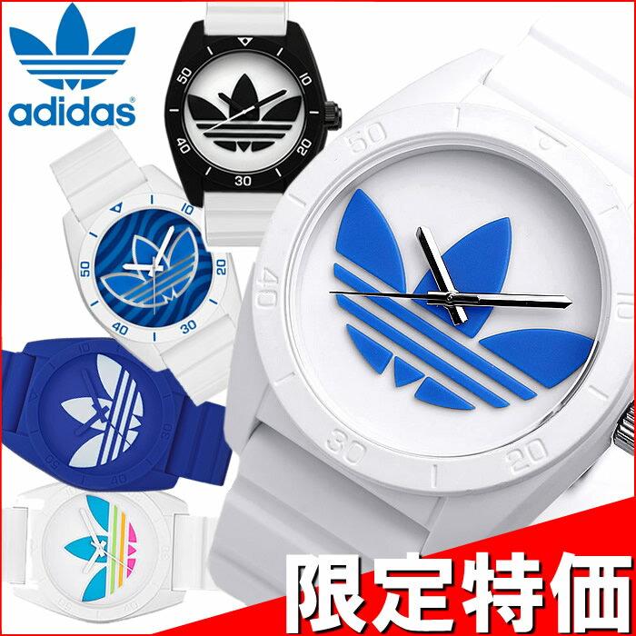 ADIDAS アディダス 腕時計 メンズ レディース SANTIAGO サンティアゴ ホワイト 白 防水 adidas ランニング うでどけい ユニセックス ウォッチ ADH2916 ADH2921 ADH2912 ADH2821 ADH2653 ADH3133