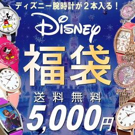 福袋 2019 ディズニー 腕時計 2点セット ミッキー ミニー ウォッチ レディース 女性 キッズ 子供 数量限定 送料無料 5,000円 ウォッチ ランキング ブランド