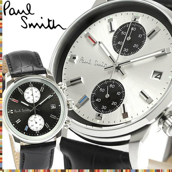 【送料無料】Paul Smith ポールスミス 腕時計 ウォッチ クオーツ メンズ メンズ クロノグラフ スモールセコンド ジャパンムーヴメント p10031 p10032