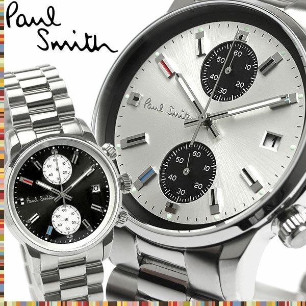 【送料無料】Paul Smith ポールスミス 腕時計 ウォッチ クオーツ メンズ 男性用 クロノグラフ スモールセコンド ジャパンムーヴメント p10033 p10034