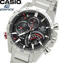 【送料無料】CASIO EDIFICE エディフィス メンズ 男性用 腕時計 ウォッチ 電波ソーラー 10気圧防水 ブルートゥース eqb-501xd-1adr