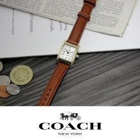【アフターセール】【送料無料】COACH コーチ THOMPSON トンプソン 腕時計 レディース ウォッチ スクエア クオーツ 日常生活防水 14502297
