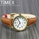 【2月20日はエントリーでポイント最大42倍】TIMEX タイメックス 腕時計 イージーリーダー 40周年記念モデル レディース TW2R40300 ブランド 人気 革 レザー ゴールド ブラウン 父の日 ギフト