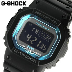 Gショック G-SHOCK 電波 ソーラー Bluetooth 腕時計 メンズ スマートフォンリンク スマートウォッチ デジタル ウォッチ ブラック ブルー カシオ CASIO 海外モデル ギフト GW-B5600-2DR