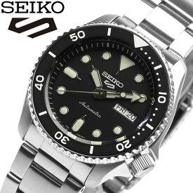 【送料無料】セイコー 腕時計 カレンダー watch Automatic SEIKO 5 Sprts スポーツ 自動巻き メンズ ウォッチ SRPD55K1