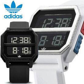 【マラソンセール】adidas アディダス 腕時計 ウォッチ デジタル ラバー カレンダー 黒 白 レディース メンズ スポーツ ファッション ギフト プレゼント adidas23