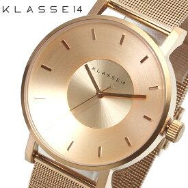 KLASSE14 クラスフォーティーン 腕時計 レディース 42mm メッシュベルト ステンレス ローズゴールド ピンクゴールド おしゃれ VO14RG003M