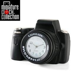 ミニチュア クロック 置時計 おしゃれ 小さい アナログ 卓上インテリア デザイン かわいい 雑貨 C3168-BK 父の日 ギフト