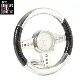 ミニチュア クロック 置時計 ハンドル型 おしゃれ 小さい アナログ 卓上 インテリア デザイン かわいい 雑貨 C3243-BK 父の日 ギフト